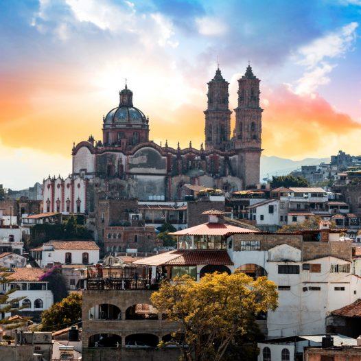 Taxco-Santa-Prisca-Sunset-NBS